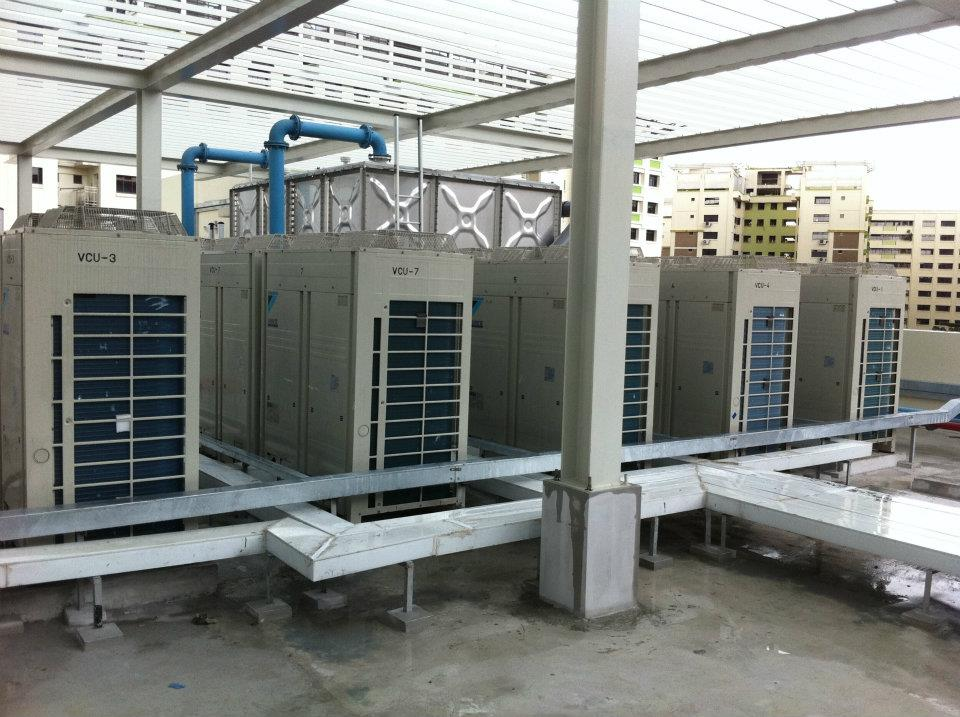 Central Air Conditioner System Installation Kbe Singapore