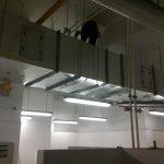 kitchen exhaust duct installation