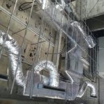 airconditioner duct installation