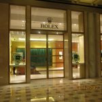 rolex showroom with AC installed