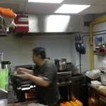 kitchen exhaust at Mexout