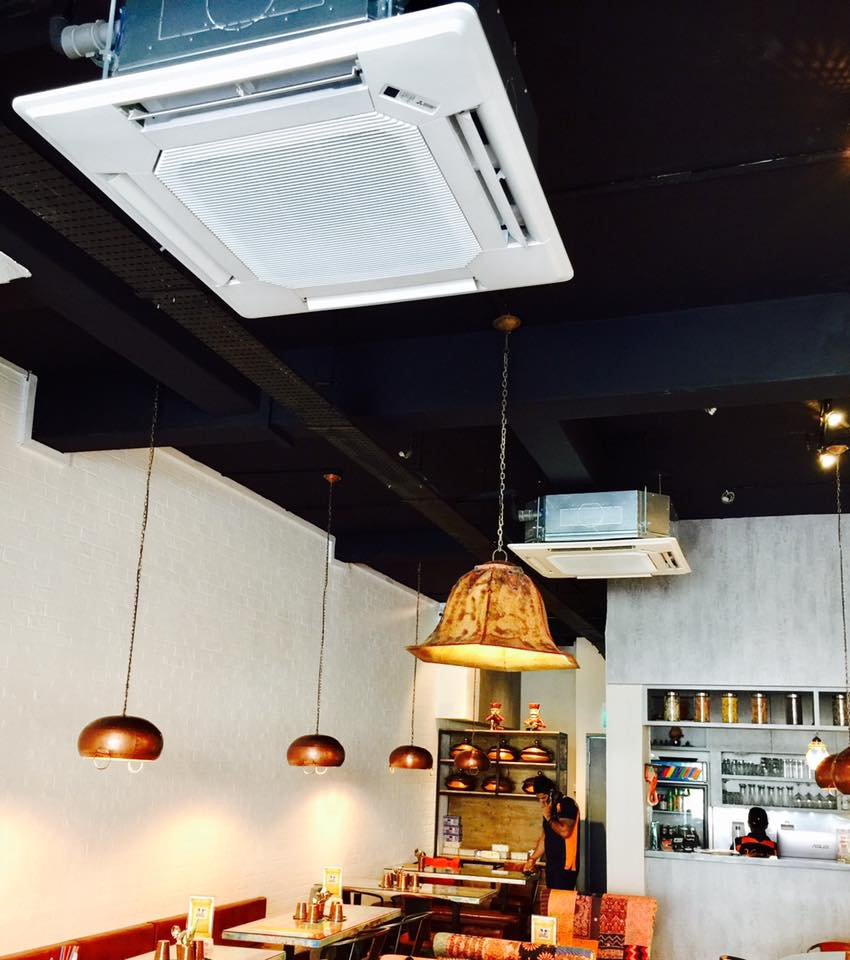 Central Aircon In Restaurant