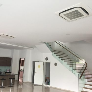 central airconditioning in living room